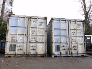 20' Custom Shipping Containers