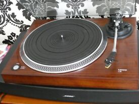 LENCO WOODEN TURNTABLE