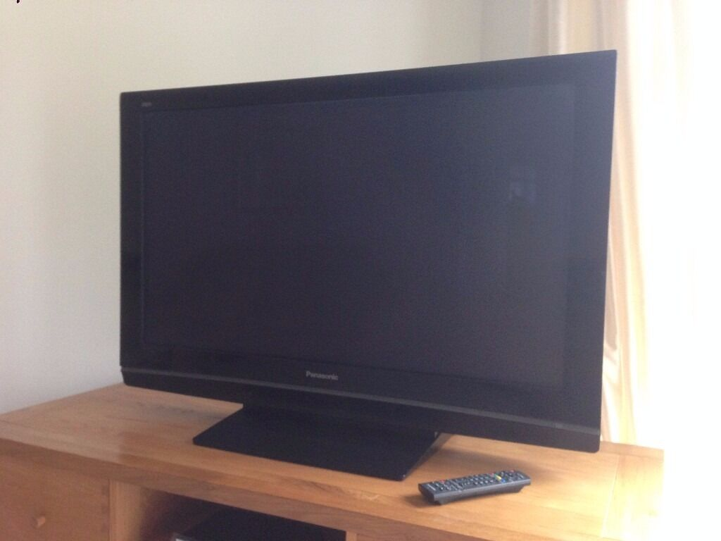 panasonic viera tv 42 inch. 42 inch panasonic viera tv with home surround sound and dvd player tv