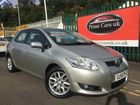 2006 56 Toyota Auris 1.4 D-4D T3 Turbo Diesel 5 Door 5 Speed Manual One Owner Full Service