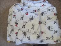 Terrier Dog Double Duvet Set