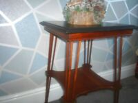 Vintage Art Deco style lamp table console table