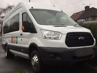 Minibus Hire With Driver, 66 Plate Minibuses, Card Payments Accepted. Superb Services.