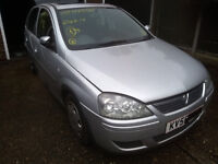 corsa c 06 breaking for spares