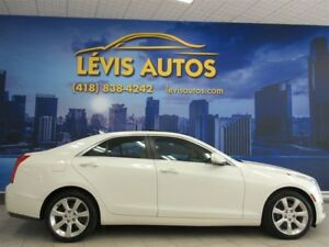 2014 Cadillac ATS 4 2.0L TURBO LUXURY AWD SEULEMENT 80800 KM