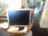 "19"" gateway tft lcd monitor"