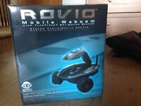 rovio mobile webcam with true track navigation system in mint condition as never used in box