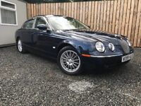 2007 JAGUAR S TYPE 3.0 V6 SE AUTO very low miles and full years test (bmw mercedes audi vauxhall)