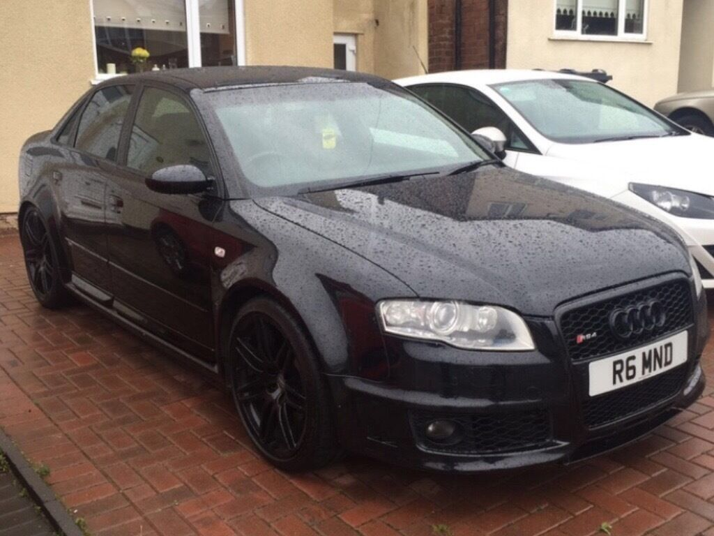 2006 audi rs4 black audi rs4 cat d in sheffield south. Black Bedroom Furniture Sets. Home Design Ideas