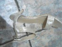 shoes gold brand new