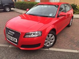 2009 Audi A3 Diesel 2.0 TDI 5DR Full Service History, 6 Speed , Low insurance & Road Tax, HPI Clear