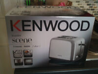 Kenwood kettle and toaster - brand new in boxes