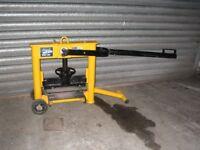 Block paving splitter / guillotine