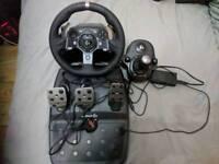 Logitech G920 Pc/Xbox Gaming Wheel