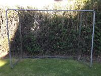 Football goals (2), 220 cm L, 150 cm each