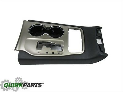 Gear Shift Indicator Bezel - 11-13 JEEP GRAND CHEROKEE GEAR SHIFT INDICATOR BEZEL & CUP HOLDER OEM NEW MOPAR