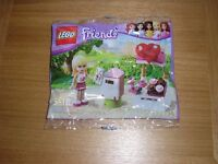 A very small collectable LEGO: Friends.