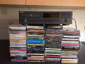 Sony cd separate and cd's