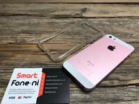 Excellent condition Rose Gold iPhone SE. 3 month warranty. Card Payment/ Delivery available