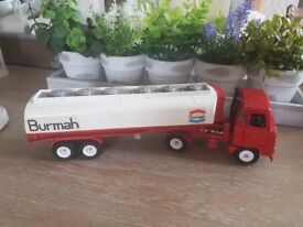Burmah vintage dinky foden tanker..use condition