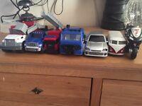 Boys toy cars