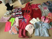 Clothes bundle- 25+ items-girl- about age 5- Next, GAP, H&M, £10