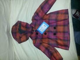 Bnwt baby VERSACE coat 6m + cost over £ 150