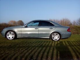 MERCEDES E 320 CDI AVANTGARDE SALOON Scratch as a new !!! Come see me!