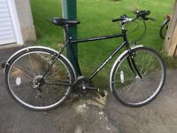 Dawes Street Cruiser Hybrid bicycle. Good condition. Little used. 21 speed. Sold as seen.