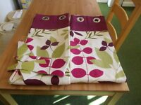 Pair of George curtains as new
