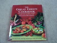 'The Great Green Cookbook' - Rosamond Richardson. VEGETARIAN Cook book / Recipe book.