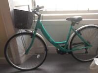 Apollo Cafe Womens Ladies Hybrid Bike Bicycle V-brakes 6 Gears 700c