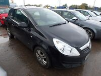 2010 Vauxhall corsa parts breaking g
