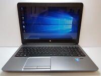 "Laptop HP Probook 650 G1 - 15.6"" Intel Core i5 4200M 2.5GHz - 500GB HDD - 8GB RAM + Win 10 Pro"
