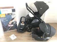 Travel system with car seat and Isofix