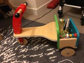 Wooden trike ELC