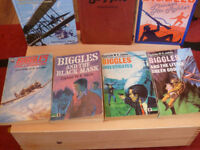 BIGGLES BOOK COLLECTION OF 13 BOOKS.