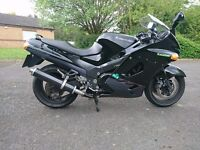 Kawasaki ZZR 1100 low miles px and delivery possible