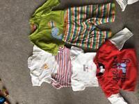 Newborn clothing bundle including Bluezoo and Tu