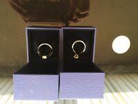 Swarovski rings size 55