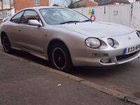 1998 TOYOTA CELICA ST202..2.0 GT TWIN CAM 16V..12 MONTHS MOT..79000 MILEAGE..clean car...