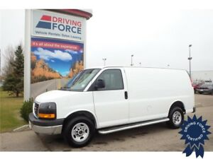 2016 GMC Savana 2500 Cargo Van w/Cold Climate Package, 4.8L V8