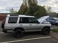 LAND ROVER DISCOVERY TD5 COMMERCIAL PERFECT FOR TOWING TACHOGRAPH FITTED IDEAL FOR COURIER WORK,