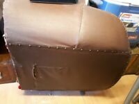 1930's/40's leather armchair