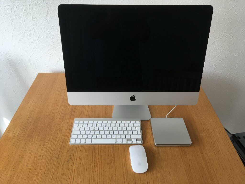 Mac Desk Top Computer Keyboard and mouse and seperate disk player | in  Chesterfield, Derbyshire | Gumtree