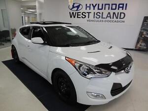 2012 Hyundai Veloster TECH CUIR/TOIT/NAVI/CAM RECUL 53$/semaine