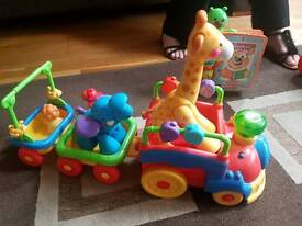 Safari animal train