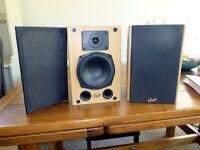Pair of Gale Hi Fi Speakers GOLD MONITOR MK 2