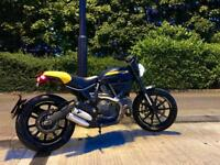 Ducati Scrambler Full Throttle - Full DUCATI service history