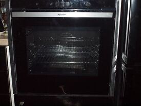 Neff Built-in Oven. B17CR32N1B. 18mths old. Surplus to kitchen remodel. Used as plate warmer.